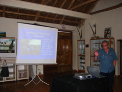 Anton Odendal gave a talk on Ecotourism